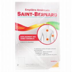 SAINT-BERNARD EMPLÂTRE AMÉRICAIN GRAND-MODÈLE 19 X 30CM