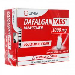 Dafalgan Tabs 1000mg 8 comprimés
