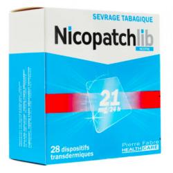 NICOPATCHLIB 21MG/24H 28 patchs dispositifs transdermiques