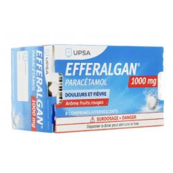 EFFERALGAN 1G CPR EFF 8