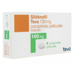SILDENAFIL 100MG TEVA CPR 12