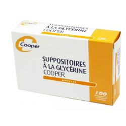 SUPPO GLYCERINE AD COOPER 100