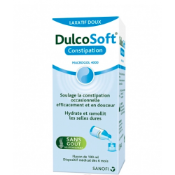 DULCOSOFT CONSTIPATION LAXATIF DOUX MACROGOL 4000 100ML