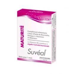 SUVEAL Maturité régule l'activité hormonale 30 capsules