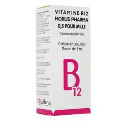 Vitamine B12 Horus collyre 5ml