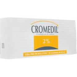 Cromédil 2% collyre 30 unidoses