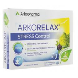 Arkorelax Stress control 30 comprimés