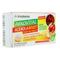 Arkovital Acérola Boost comprimés à croquer