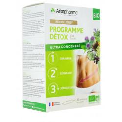 Arkofluides programme détox 30 ampoules