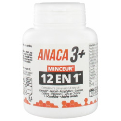 ANACA 3 + Minceur 12 en1 120 Gélules