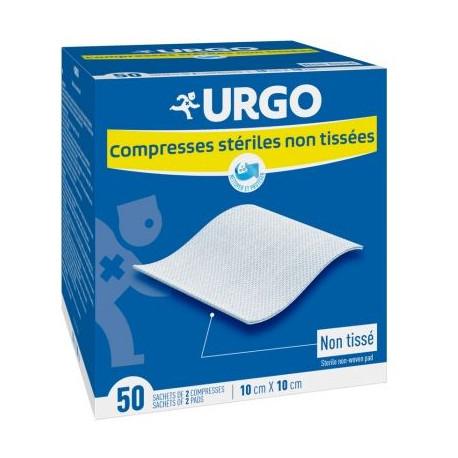 URGO COMPRESSES NT 10 X 10 BT50