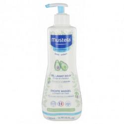 Mustela gel lavant doux à l'avocat bio 500ml