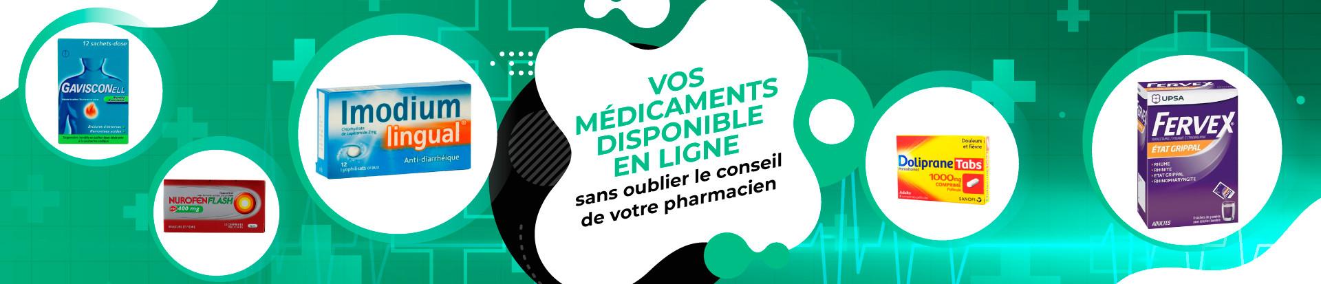 Bannière médicaments